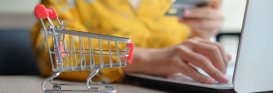 Faire ses courses sur internet