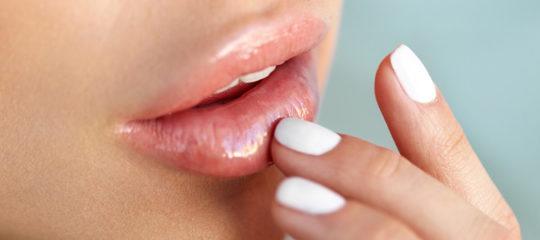 soin de ses lèvres