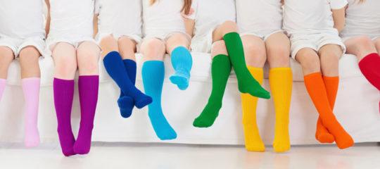 Chaussettes hautes sous le genou